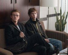 The Social Network: Justin Timberlake, Jesse Eisenberg