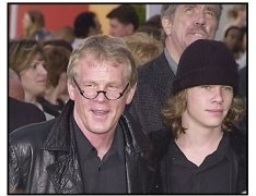"Nick Nolte and son Brawley at the premiere of ""The Hulk"""