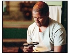 """Man on Fire"" Movie Still: Denzel Washington"