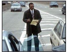 Changing Lanes movie still: Samuel L. Jackson as Doyle Gipson