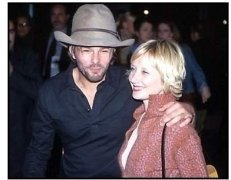 Anne Heche and Coley Laffoon at the Snatch premiere