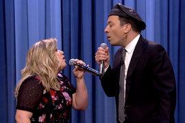 Kelly Clarkson, Jimmy Fallon, The Tonight Show Starring Jimmy Fallon