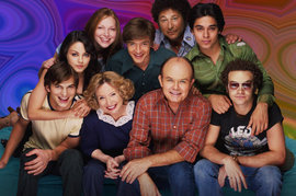 That '70s Show, Topher Grace, Mila Kunis, Ashton Kutcher, Danny Masterson, Laura Prepon, Wilmer Valderrama, Debra Jo Rupp, Kurtwood Smith, Don Stark