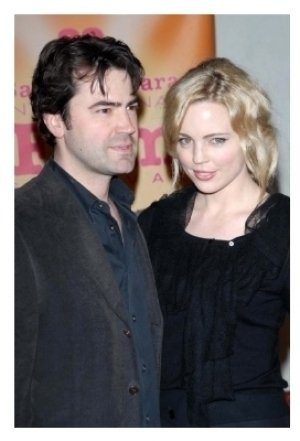 Ron Livingston and Melissa George