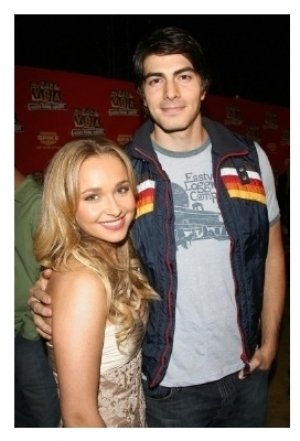 Hayden Panettiere and Brandon Routh