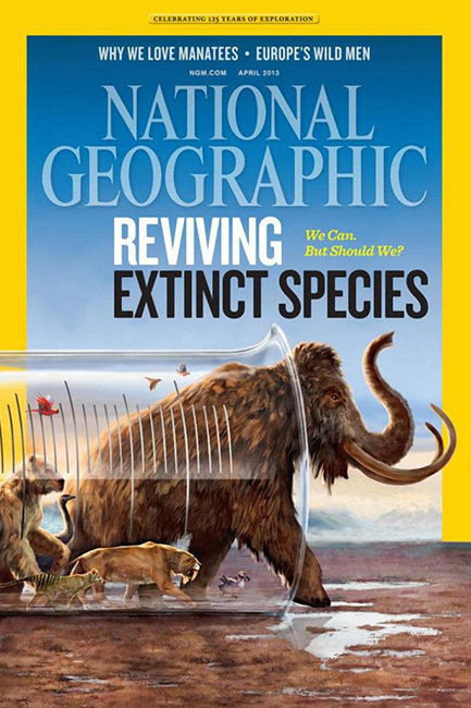 National Geographic De-Extinction cover