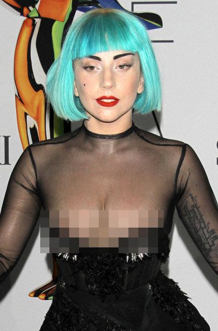 Lady Gaga Nip Slip