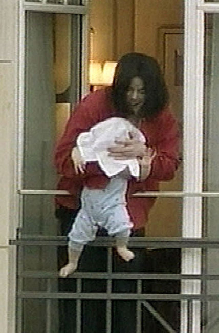 Michael Jackson and Blanket