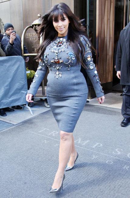 Kim Kardashian Fat-Shamed Pregnant