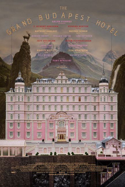 Grand Budapest Hotel, Movie Poster
