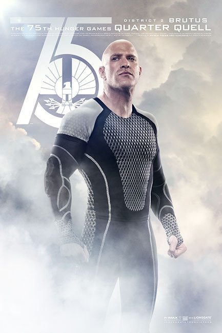 The Hunger Games: Catching Fire, Brutus