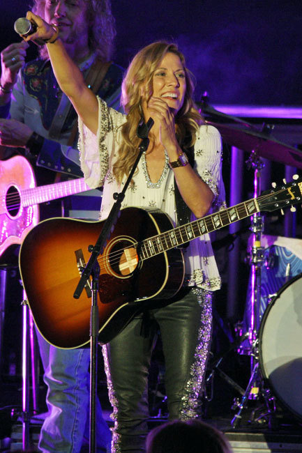 Sheryl Crow Los Angeles Performance Helad at The Greek Theater    Featuring: Sheryl Crow  Where: Los Angeles, California, United States  When: 15 Sep 2013  Credit: FayesVision/WENN.com