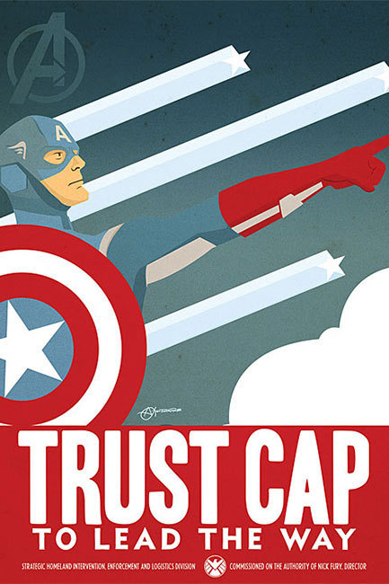Captain American poster