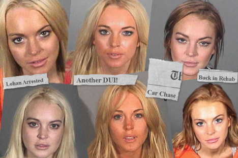Lohan <em>Arrest Quiz</em>: Guess the Headline Year