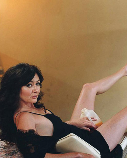 Shannen Doherty Poses for Details