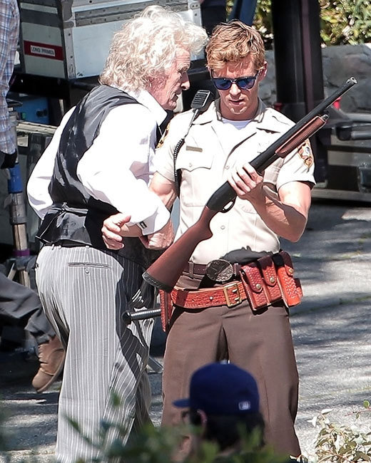 Rutger Hauer and Ryan Kwanten in True Blood