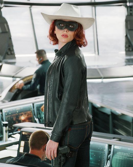 Scarlett Johansson, The Avengers, The Lone Ranger