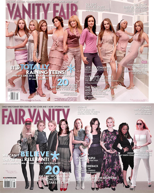 Credit: Vanity Fair; Hollywood.com Illustration