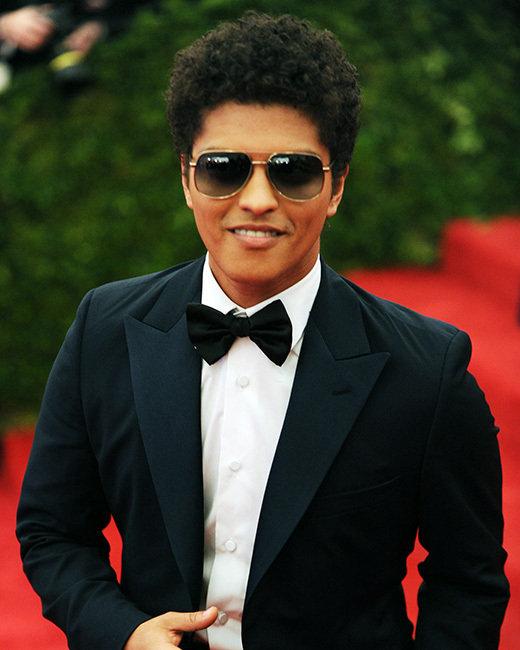 Bruno Mars 2016 Hair
