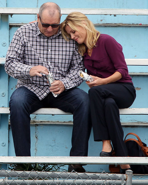 Julie Bowen and Ed O'Neill