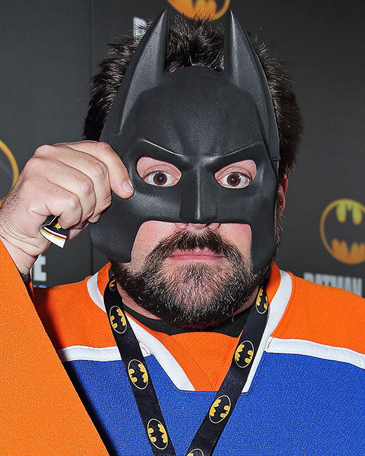 Kevin Smith endorses Bat Suit
