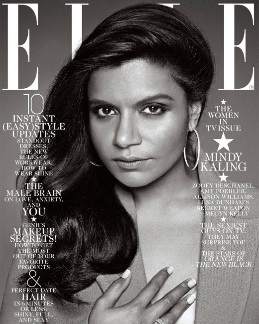 Mindy Kaling, Elle Cover