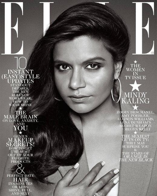 Mindy Kaling, Elle Cover