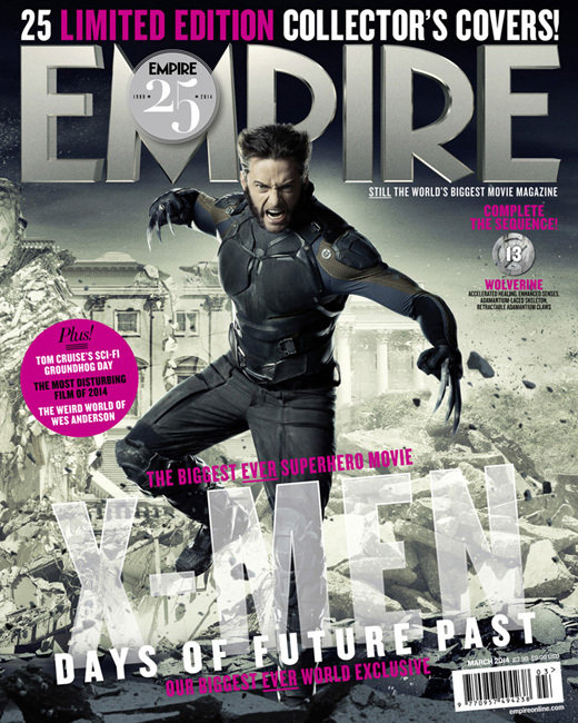X-Men Days Of Future Past 'Empire Magazine' Cover
