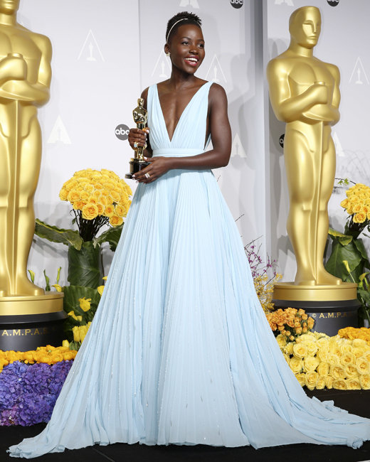 The 86th Annual Oscars held at Dolby Theatre  - Press Room      Featuring: Lupita Nyong'o   Where: Hollywood, California, United States   When: 02 Mar 2014   Credit: Dave Bedrosian/Future Image/WENN.com      **Not available in Germany, Poland, Russia, Hungary, Slovenia, Czech Republic, Serbia, Croatia, Slovakia**