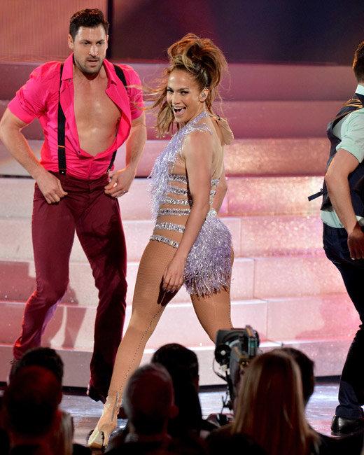Jennifer Lopez and Maksim Chmerkovskiy