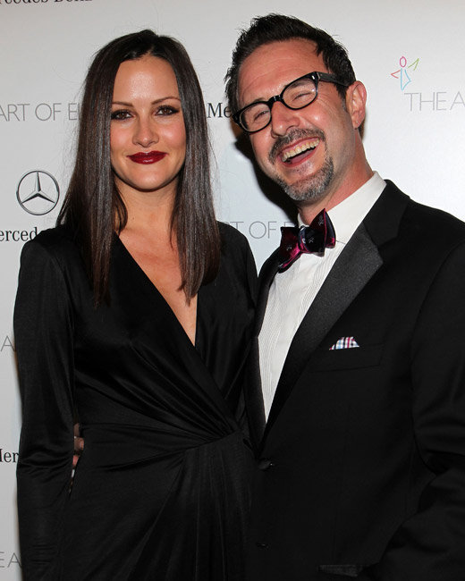 David Arquette and Christina McLarty