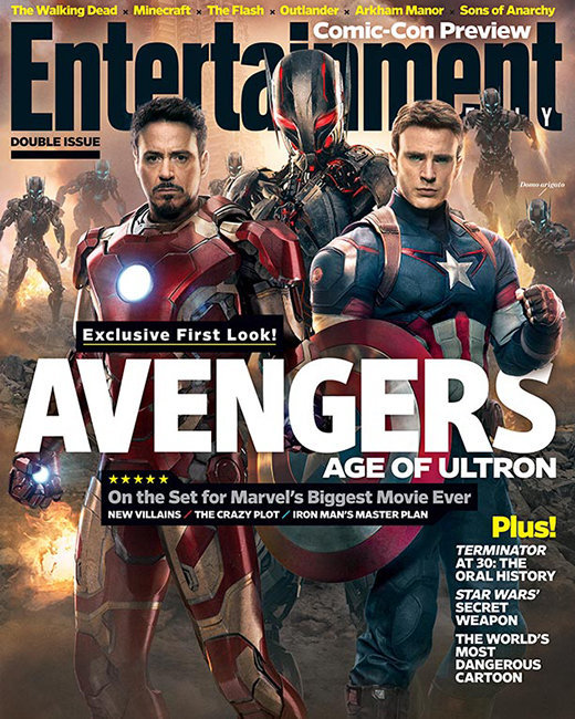 Avengers Entertainment Weekly Cover