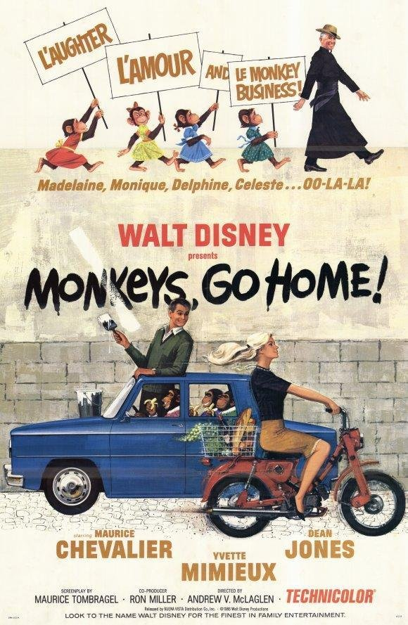 Monkeys Go Home!