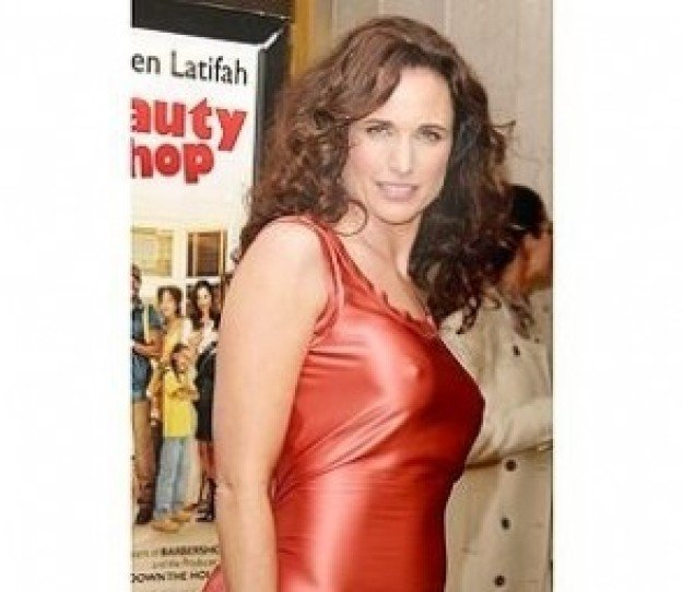 Beauty Shop Premiere: Andie MacDowell/FULL