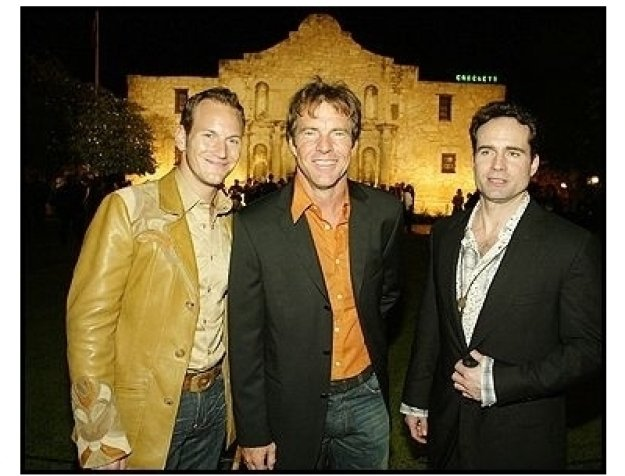 "Patrick Wilson, Dennis Quaid, and Jason Patric at ""The Alamo"" Premiere"