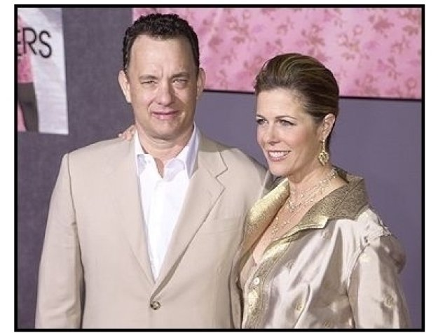 "Tom Hanks and Rita Wilson at ""The Ladykillers"" premiere"