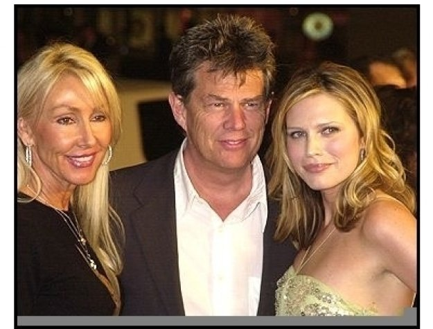 """David Foster with wife Linda and daughter Sara  at """"The Big Bounce"""" premiere"""