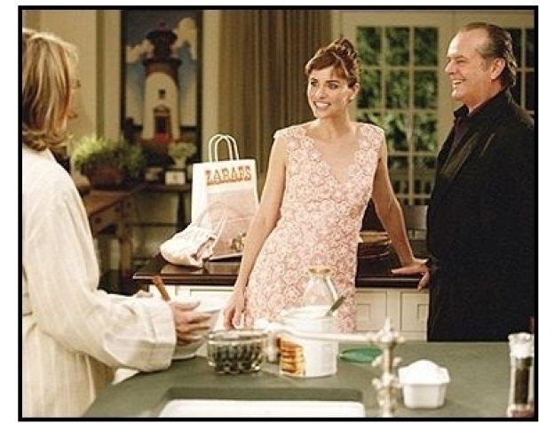 """Something's Gotta Give"" Movie Still: Diane Keaton,  Amanda Peet and Jack Nicholson"