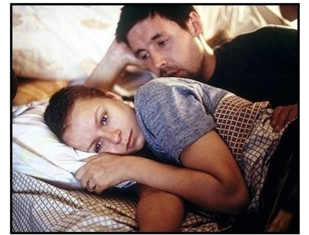 """In America"" Movie Still: Samantha Morton and Paddy Considine"