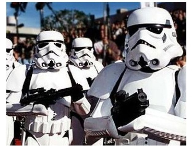 Stormtroopers at the Star Wars: Episode IV -- A New Hope premiere