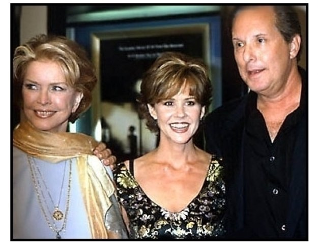 Ellen Burstyn, Linda Blair and William Friedkin at The Exorcist premiere