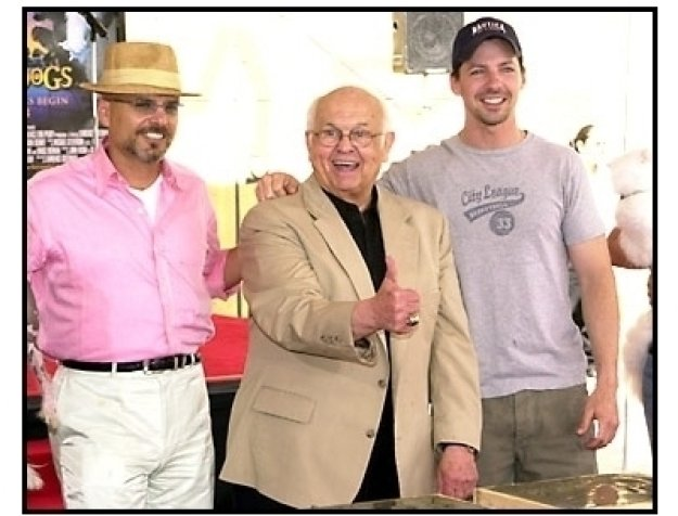 Sean Hayes and Joe Pantoliano at the Cats and Dogs charity auction