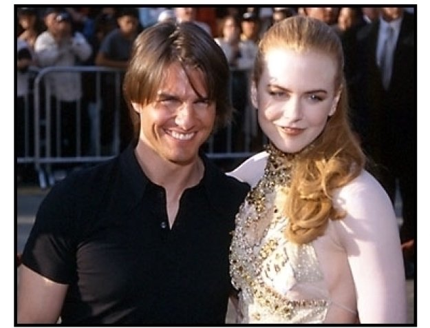 Tom Cruise and Nicole Kidman at the Mission Imposible 2 premiere