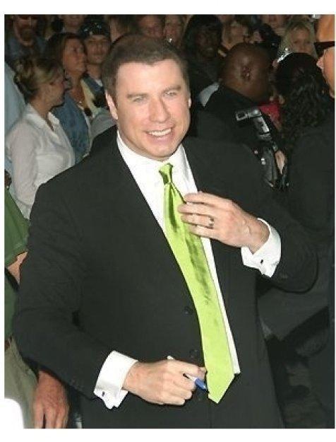John Travolta at the Ladder 49 Premiere