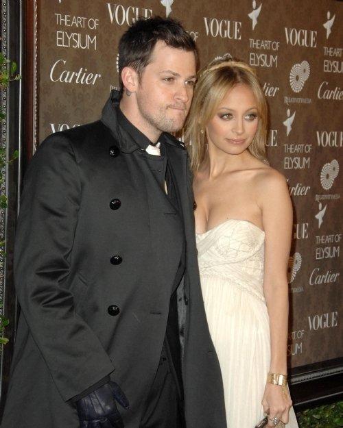 Joel Madden and Nicole Richie
