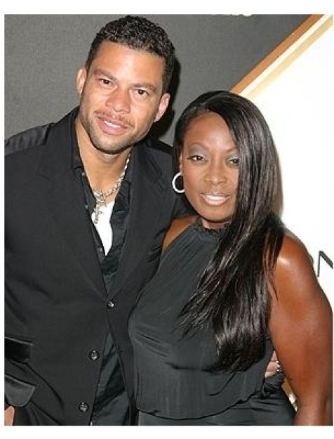 Entertainment Weekly Magazine 3rd Annual Pre-Emmy Party Photos:  Al Reynolds and Star Jones