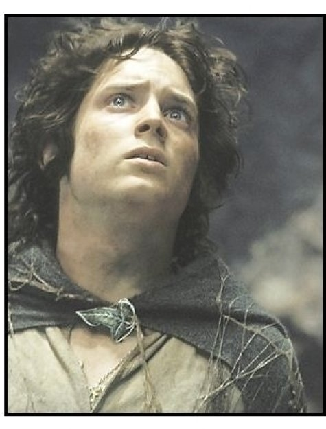 """""""The Lord of the Rings: The Return of the King"""" Movie Still: Elijah Wood"""