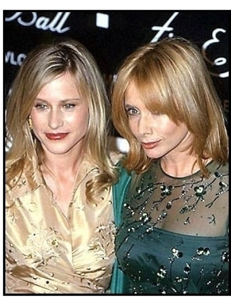 Patricia and Rosanna Arquette at the 2000 Fire and Ice Ball