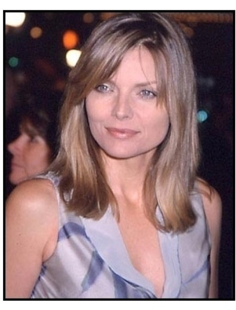 Michelle Pfeiffer at the Cast Away premiere