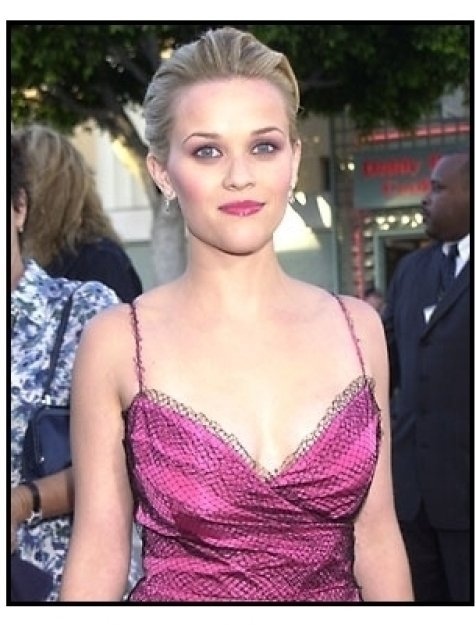 Reese Witherspoon at the Legally Blonde premiere